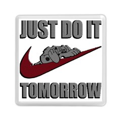 Just Do It Tomorrow Memory Card Reader (square)