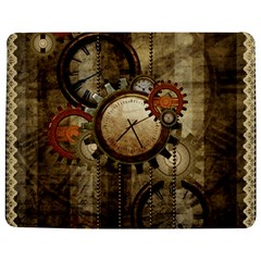 Wonderful Steampunk Design With Clocks And Gears Jigsaw Puzzle Photo Stand (rectangular)