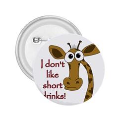 Giraffe Joke 2 25  Buttons