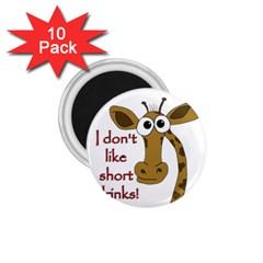 Giraffe Joke 1 75  Magnets (10 Pack)
