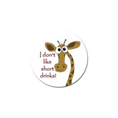 Giraffe Joke Golf Ball Marker (10 Pack)