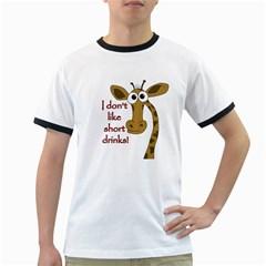 Giraffe Joke Ringer T Shirts