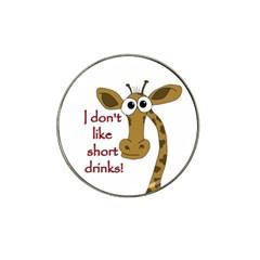 Giraffe Joke Hat Clip Ball Marker