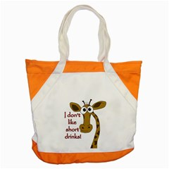 Giraffe Joke Accent Tote Bag