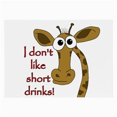 Giraffe Joke Large Glasses Cloth (2 Side)