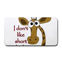 Giraffe Joke Medium Bar Mats