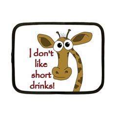 Giraffe Joke Netbook Case (small)