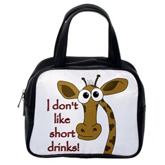Giraffe Joke Classic Handbags (one Side)