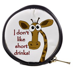 Giraffe Joke Mini Makeup Bags