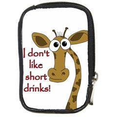 Giraffe Joke Compact Camera Cases