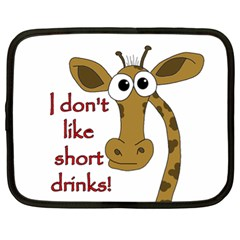 Giraffe Joke Netbook Case (xl)