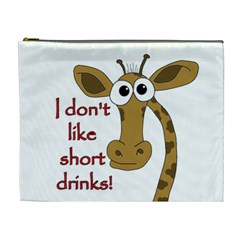 Giraffe Joke Cosmetic Bag (xl)