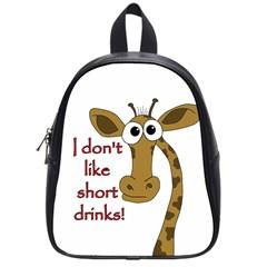 Giraffe Joke School Bags (small)