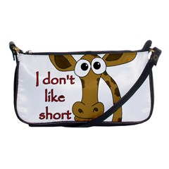 Giraffe Joke Shoulder Clutch Bags