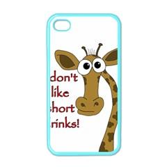 Giraffe Joke Apple Iphone 4 Case (color)