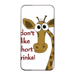 Giraffe Joke Apple Iphone 4/4s Seamless Case (black)
