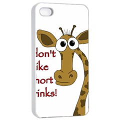 Giraffe Joke Apple Iphone 4/4s Seamless Case (white)