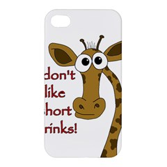 Giraffe Joke Apple Iphone 4/4s Premium Hardshell Case