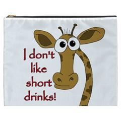 Giraffe Joke Cosmetic Bag (xxxl)