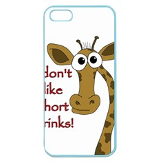 Giraffe Joke Apple Seamless Iphone 5 Case (color)