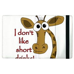 Giraffe Joke Apple Ipad 3/4 Flip Case