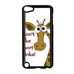 Giraffe Joke Apple Ipod Touch 5 Case (black)