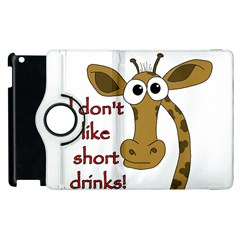 Giraffe Joke Apple Ipad 3/4 Flip 360 Case