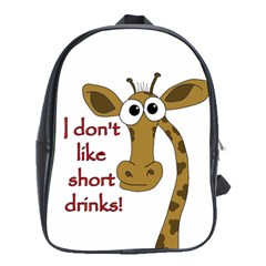 Giraffe Joke School Bags (xl)