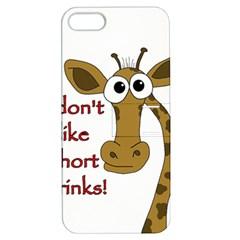 Giraffe Joke Apple Iphone 5 Hardshell Case With Stand