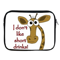 Giraffe Joke Apple Ipad 2/3/4 Zipper Cases