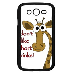 Giraffe Joke Samsung Galaxy Grand Duos I9082 Case (black)