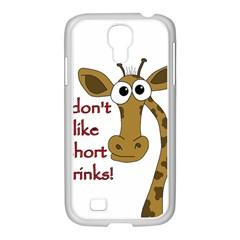 Giraffe Joke Samsung Galaxy S4 I9500/ I9505 Case (white)