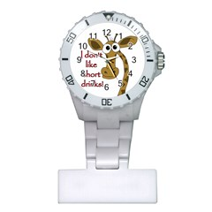 Giraffe Joke Plastic Nurses Watch
