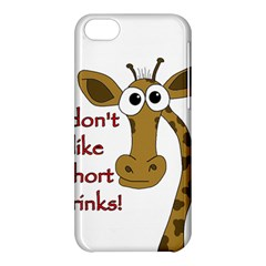 Giraffe Joke Apple Iphone 5c Hardshell Case