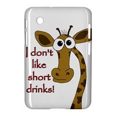 Giraffe Joke Samsung Galaxy Tab 2 (7 ) P3100 Hardshell Case