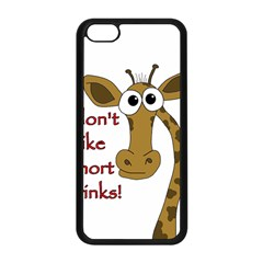 Giraffe Joke Apple Iphone 5c Seamless Case (black)