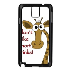 Giraffe Joke Samsung Galaxy Note 3 N9005 Case (black)