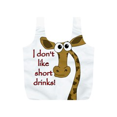 Giraffe Joke Full Print Recycle Bags (s)