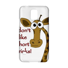 Giraffe Joke Samsung Galaxy S5 Hardshell Case