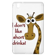 Giraffe Joke Samsung Galaxy Tab Pro 8 4 Hardshell Case