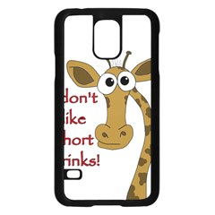 Giraffe Joke Samsung Galaxy S5 Case (black)