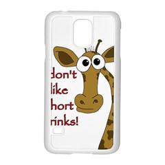 Giraffe Joke Samsung Galaxy S5 Case (white)