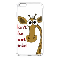 Giraffe Joke Apple Iphone 6 Plus/6s Plus Enamel White Case