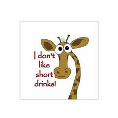 Giraffe Joke Satin Bandana Scarf