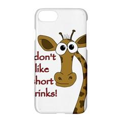 Giraffe Joke Apple Iphone 7 Hardshell Case