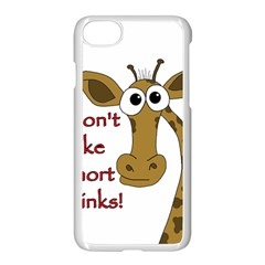 Giraffe Joke Apple Iphone 7 Seamless Case (white)