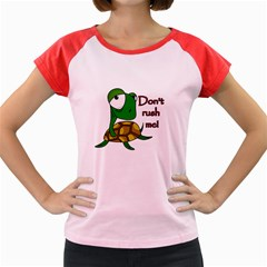 Turtle Joke Women s Cap Sleeve T Shirt