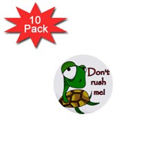 Turtle Joke 1  Mini Buttons (10 Pack)