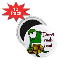 Turtle Joke 1 75  Magnets (10 Pack)