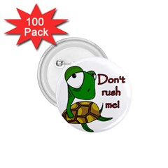 Turtle Joke 1 75  Buttons (100 Pack)